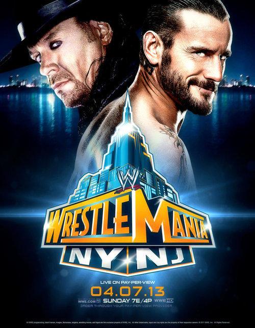 Wrestlemania 29 Undertaker - CM Punk