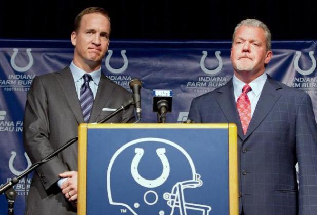 Peyton Manning & Jim Irsay