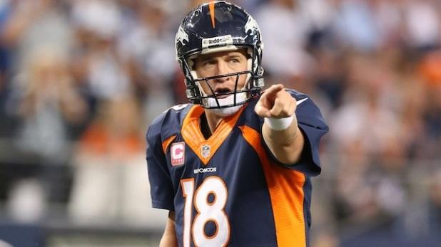 Peyton Manning Pointing