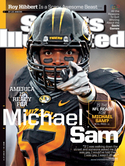 Michael Sam SI Cover