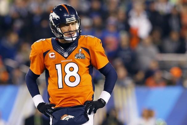 Peyton Manning Super Bowl 48