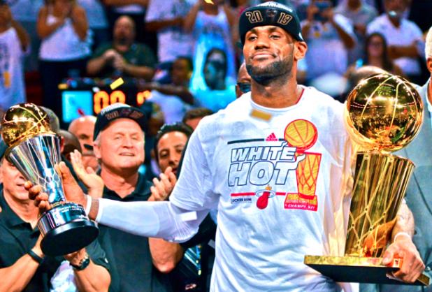 LeBron Finals MVP