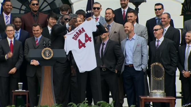 Obama Red Sox