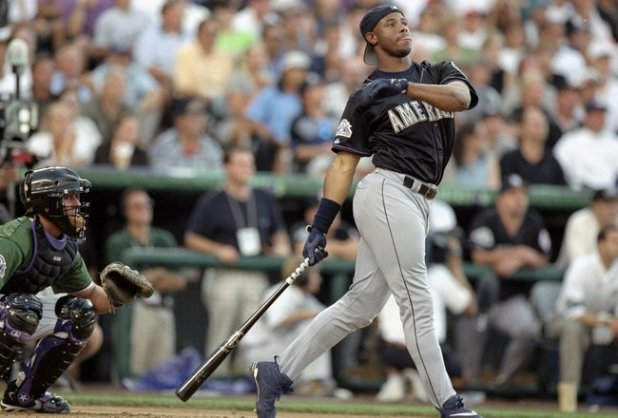 MLB HR Derby Griffey