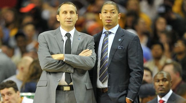 David Blatt and Tyronn Lue